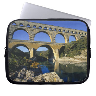 Europe, France, Pont du Gard. Pont du Gard, Computer Sleeve