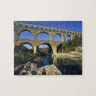 Europe France Pont du Gard Pont du Gard Puzzle