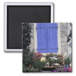 Europe, France, Provence, Aix-en-Provence. 2 Inch Square Magnet