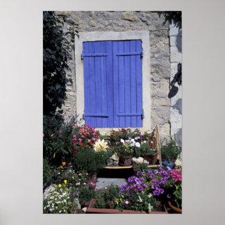 Europe, France, Provence, Aix-en-Provence. Poster