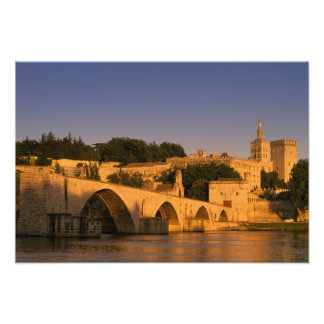 Europe, France, Provence, Avignon. Palais des 2 Photo Print