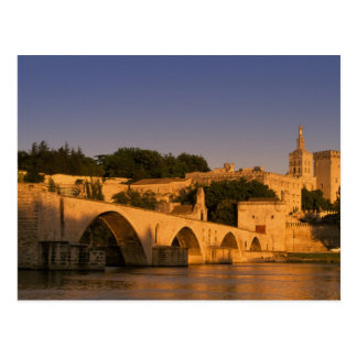 Europe, France, Provence, Avignon. Palais des 2 Postcard