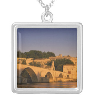 Europe, France, Provence, Avignon. Palais des 2 Silver Plated Necklace
