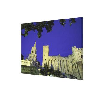 Europe, France, Provence, Avignon. Palais des Canvas Print