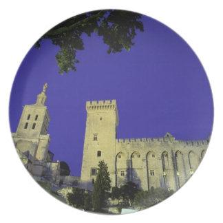 Europe, France, Provence, Avignon. Palais des Dinner Plate