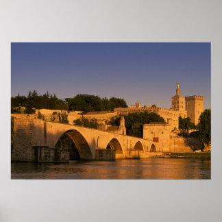 Europe, France, Provence, Avignon. Palais des Poster