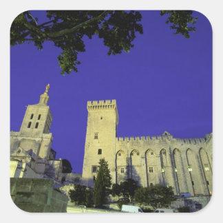 Europe, France, Provence, Avignon. Palais des Square Sticker