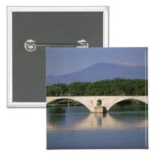 Europe, France, Provence, Avignon. Pont St, Pinback Button