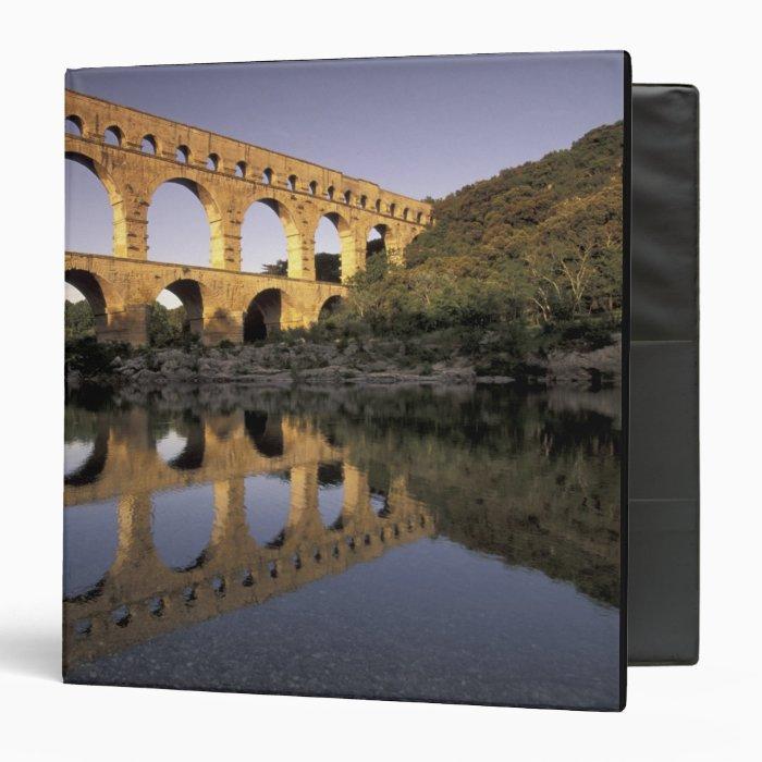 Europe, France, Provence, Gard; Pont du Gard, Binder