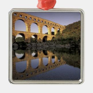 Europe, France, Provence, Gard; Pont du Gard, Christmas Ornament