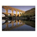 Europe, France, Provence, Gard; Pont du Gard, Postcards