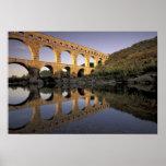 Europe, France, Provence, Gard; Pont du Gard, Print