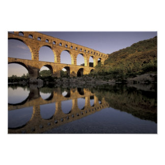 Europe France Provence Gard Pont du Gard Print