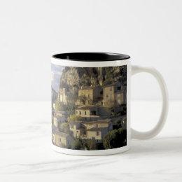 Europe, France, Provence, La Roque Alric, Two-Tone Coffee Mug