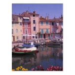 Europe, France, Provence, Martigues. Mirror of Postcard