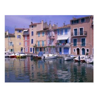 Europe, France, Provence, Martiques, Miroir Postcard