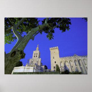 Europe, France, Provence, Vaucluse, Avignon. Poster