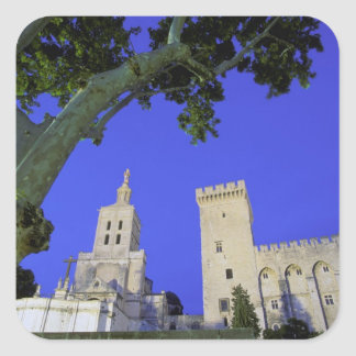 Europe, France, Provence, Vaucluse, Avignon. Square Sticker