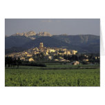 Europe, France, Provence, Vaucluse, SSablet, Greeting Cards
