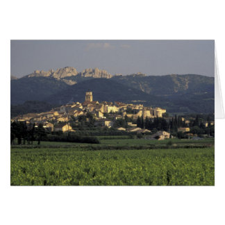 Europe, France, Provence, Vaucluse, SSablet, Greeting Card