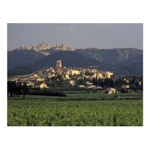 Europe, France, Provence, Vaucluse, SSablet, Postcards