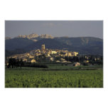Europe, France, Provence, Vaucluse, SSablet, Print