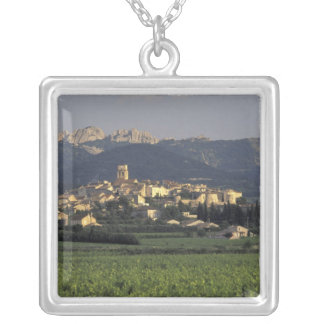 Europe, France, Provence, Vaucluse, SSablet, Silver Plated Necklace