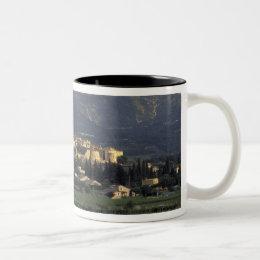 Europe, France, Provence, Vaucluse, SSablet, Two-Tone Coffee Mug