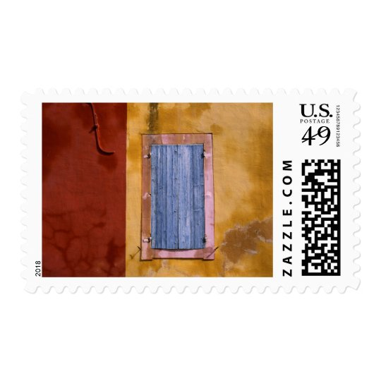 Europe, France, Roussillon. Blue shutters Postage