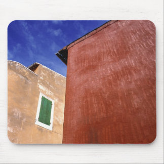 Europe, France, Roussillon. Colorful walls are Mouse Pad