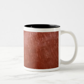 Europe, France, Roussillon. Colorful walls are Two-Tone Coffee Mug