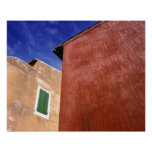 Europe, France, Roussillon. Colorful walls are Poster