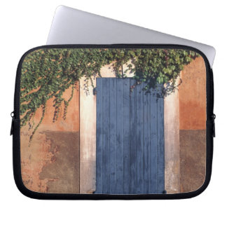 Europe, France, Roussillon. Ivy covers the wall Computer Sleeve