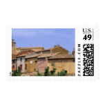 Europe, France,  Roussillon. The tones of Postage Stamps