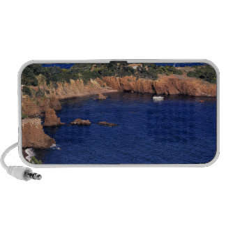 Europe, France, Theoule-sur-Mer. A tile-roofed Mini Speaker