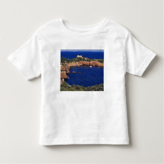 Europe, France, Theoule-sur-Mer. A tile-roofed Toddler T-shirt