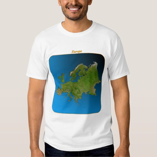 Europe from Space T-Shirt