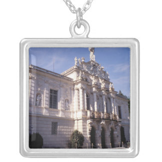 Europe, Germany, Bavaria, Linderhof. Linderhof Silver Plated Necklace