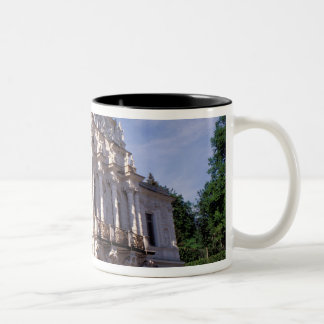 Europe, Germany, Bavaria, Linderhof. Linderhof Two-Tone Coffee Mug