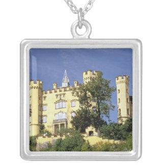Europe, Germany, Bayern Bavaria), Fussen. Silver Plated Necklace