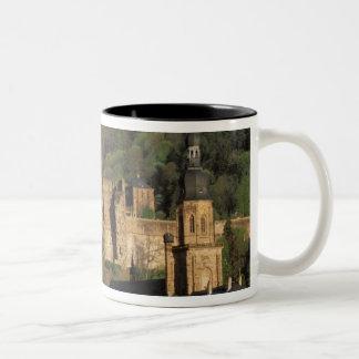 Europe, Germany, Heidelberg. Castle Two-Tone Coffee Mug
