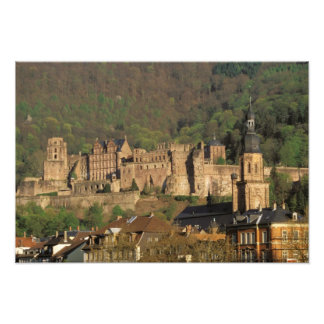 Europe, Germany, Heidelberg. Castle Photo Print