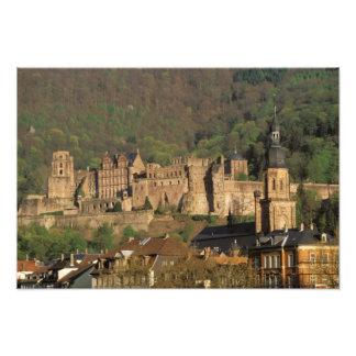Europe, Germany, Heidelberg. Castle Photograph