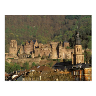 Europe, Germany, Heidelberg. Castle Postcards
