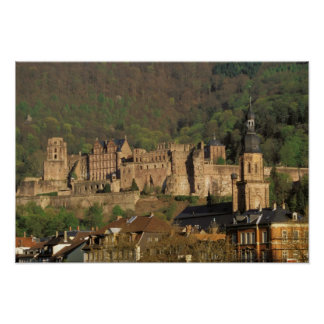 Europe, Germany, Heidelberg. Castle Poster