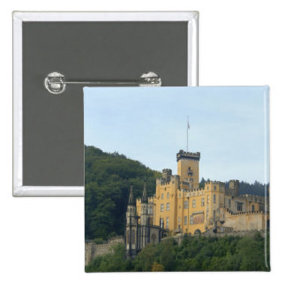 Europe, Germany, near Koblenz, Castle Schloss 2 Inch Square Button