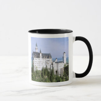 Europe, Germany, Neuschwanstein Castle, built Mug