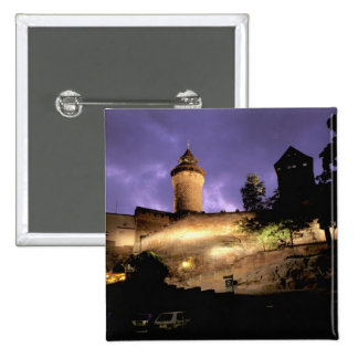 Europe, Germany, Numberg, Imperial Castle Pin