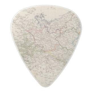 Europe, Germany, Poland Acetal Guitar Pick