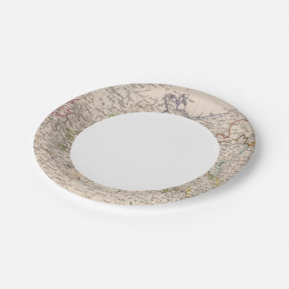 Europe, Germany, Poland Paper Plate